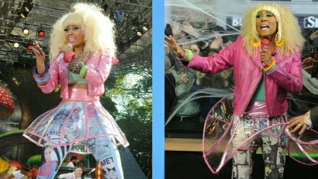 Nicki Minaj Calls Up u0027GMAu0027. More. Robin Roberts gets her Halloween costume ...  sc 1 st  ABC News & Nicki Minaj Calls Up u0027GMAu0027 Video - ABC News