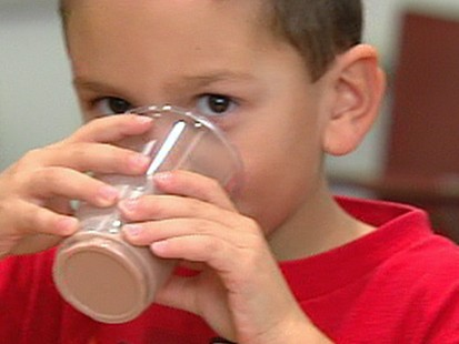 VIDEO: Chocolate milk contains high sugar content.