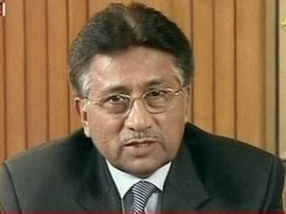 Pakistani President Musharraf