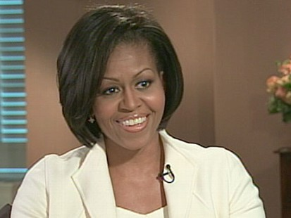 "VIDEO: The first lady talks about her nationwide campaign called, ""Lets Move."""