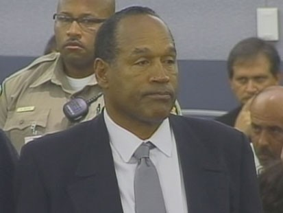 A picture of O.J. Simpson.