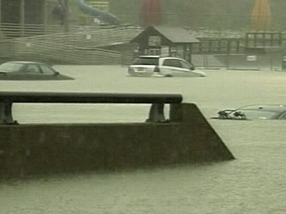 VIDEO: Heavy rains in the South have left at least 15 people dead across several states.