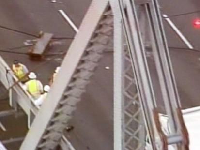 VIDEO: Bay Bridge Shut Down After Cable Snaps