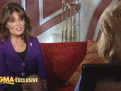 VIDEO: Former Alaska governor discusses the shock of her daughters pregnancy.