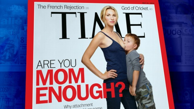 VIDEO: Provocative Time magazine cover stirs debate about controversial trend.