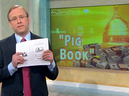 VIDEO: The Pig Book documents earmark spending and reveals the biggest offenders.