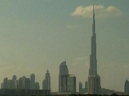 VIDEO: The Burj Dubai in the UAE is almost half a mile tall.