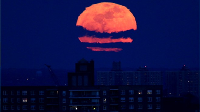 Amazing Pictures Of Supermoon Video Abc News