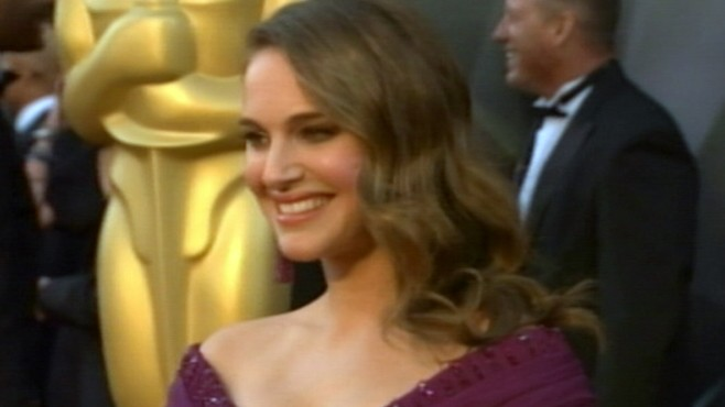 VIDEO: Natalie Portman nabs Best Actress prize, Melissa Leo wins for Best Supporting.