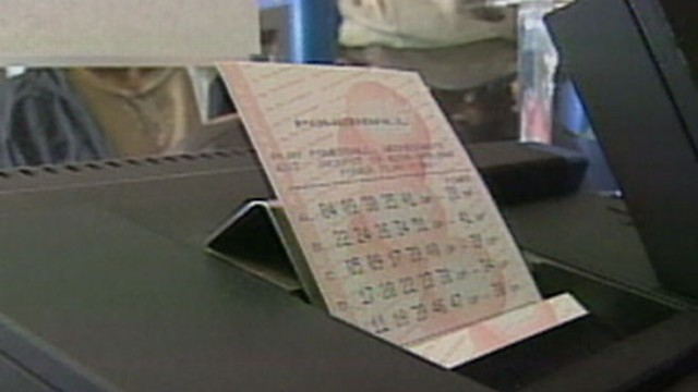 VIDEO: The winning ticket matched all five numbers, including the Powerball to win the jackpot.