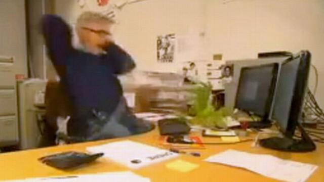VIDEO: Norwegian Man Falls Prey to Coworkers' Pranks