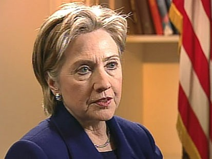 VIDEO: Secretary of State Hillary Clinton in Japan.