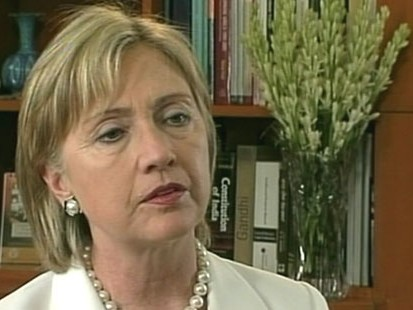 VIDEO: Hillary Clinton downplays nuclear threat from North Korea.