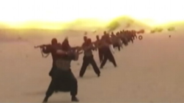 VIDEO: There is a desperate search to hunt down 40 terrorists now on the loose.