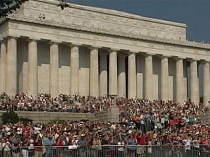 VIDEO: Glenn Beck and Al Sharpton Host Rallies in D.C.