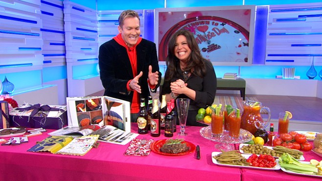 VIDEO: The famous chef shares romantic traditions and gift ideas for Valentines Day.