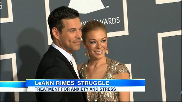 """VIDEO: The country star is seeking help for """"anxiety and stress."""""""