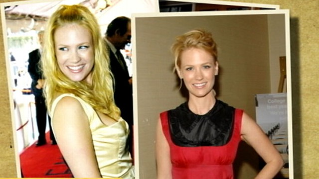 Hair Dye Risk January Jones Says Hair Loss Due To Frequent Dying
