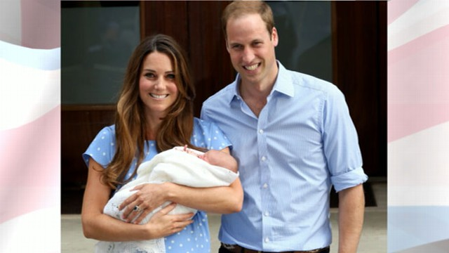 Queen Elizabeth Visits Prince William and Kate Middleton's Baby Boy