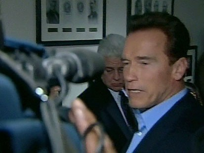 VIDEO: Gov. Schwarzenegger is set to sign an emergency budget plan to address deficit.