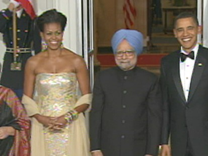 VIDEO: Obamas First State Dinner