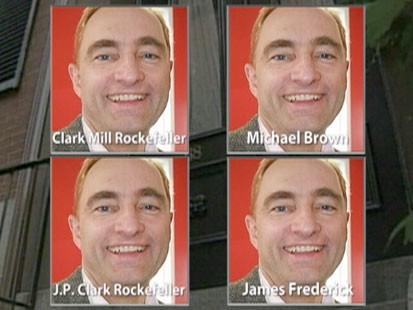 Clark Rockefellers many aliases