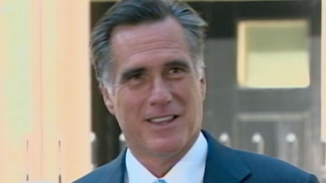VIDEO: In his first trip overseas as the presumptive Republican nominee Romney is in damage control.
