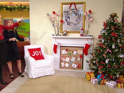 VIDEO: Sarah Gray Miller shows viewers how to decorate a room for cheap.