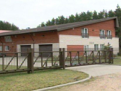 VIDEO: Outside Lithuania the CIA used this former barn to interrogate Al Qaeda figures.