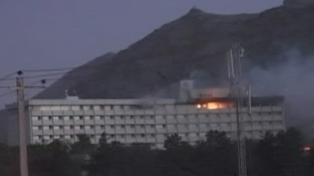 VIDEO: Nick Schifrin reports on the latest on the attack in Kabul, Afghanistan.