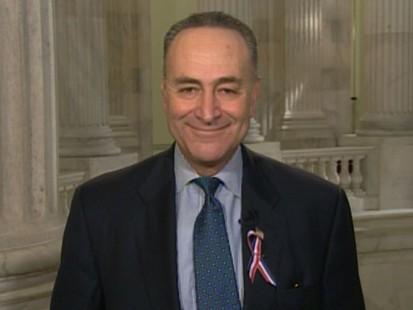 VIDEO: Sen. Charles Schumer, D-N.Y., discusses the 9/11 responders bill, Start treaty.