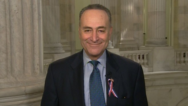 VIDEO: Sen. Charles Schumer, D-N.Y., discusses the 9/11 responders bill, Start treaty.