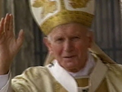 """VIDEO: The book """"Why Hes a Saint"""" reveals new details about Pope John Paul IIs life."""