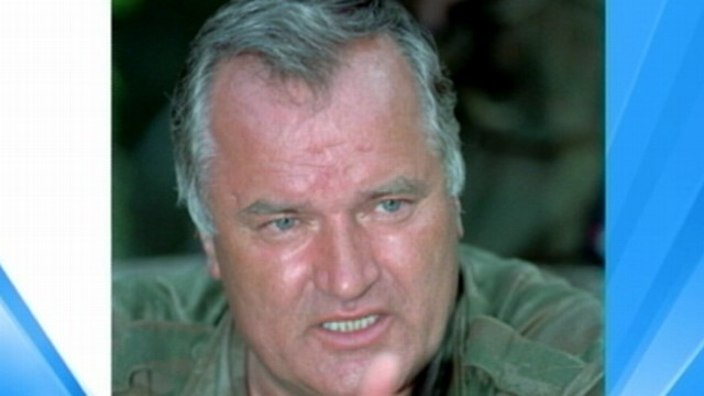 VIDEO: Ratko Mladic suspected of involvement in genocide of 8,000 during Baltic War.