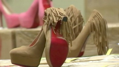 ad5593ffe141 Christian Louboutin Imitations Seized by Feds. More than 20,000 pairs of  fake high heels ...