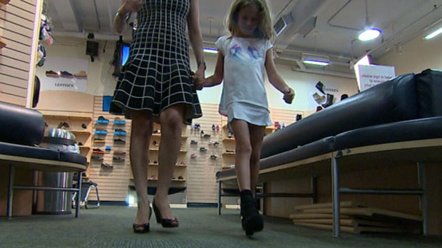 Girls Too Young for Wedge Sandals