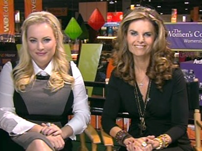 VIDEO: Maria Shriver and Meghan McCain discuss women in business