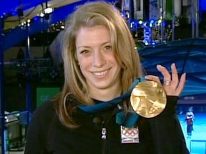 VIDEO: Skier Hannah Kearney shares her excitement after winning a gold medal.
