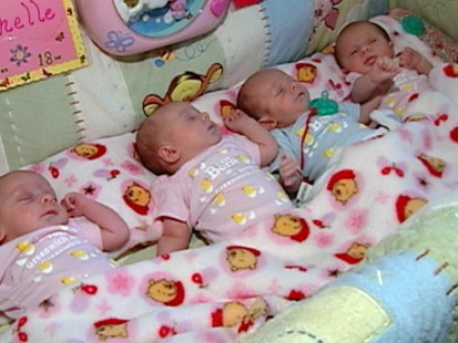 VIDEO: Dream Come True: Two Women, Four Babies, One Familys Miracle