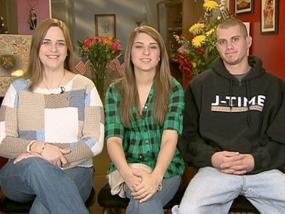 VIDEO: Fort Hood Survivor Home for Holidays