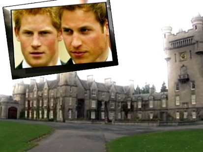VIDEO: Princes William and Harry have spent much of their lives at Balmoral Castle.