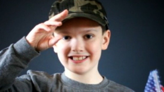 VIDEO: Brendan Haas chose to give fallen soldiers family tickets to the Magic Kingdom.