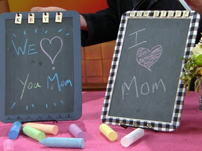 VIDEO: Nancy Soriano explains how to make the perfect mothers day gift.
