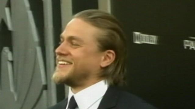 VIDEO: Charlie Hunnam will play Christian Grey and Anastasia Steele was cast as Dakota Johnson.