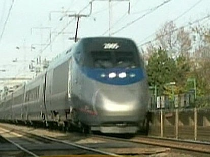 VIDEO: President unveils vision for high speed train system like those abroad.