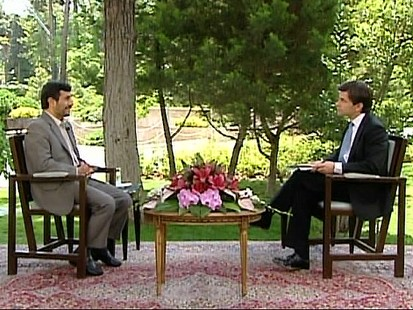 "VIDEO: The ""This Week"" host speaks exclusively with President Mahmoud Ahmadinejad."
