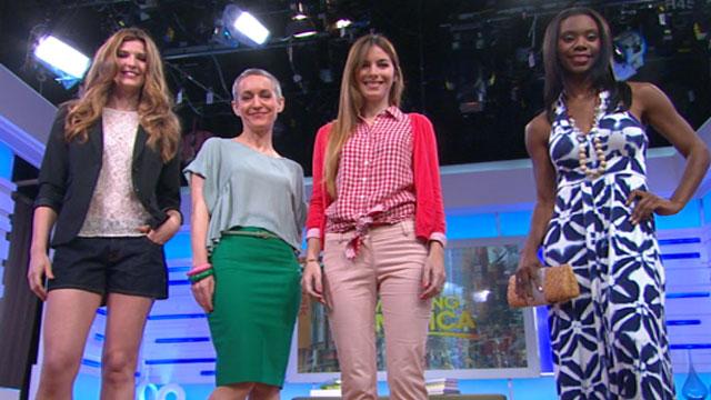 PHOTO:Good Morning Americas Lara Spencer talks this summers fashion trends.