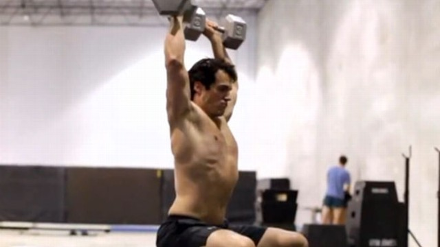 """VIDEO: """"Man of Steel"""" actor relied on vigorous workouts, large calorie consumption to build mass."""