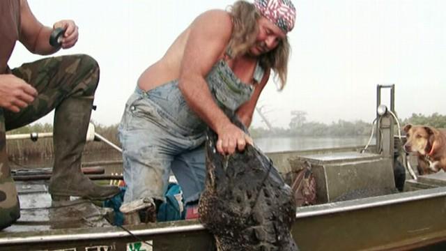 'Swamp People' Follows Gator Hunters in Louisiana