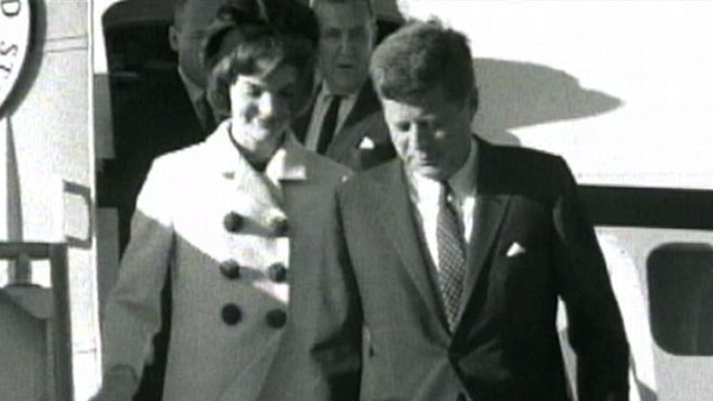"VIDEO: First lady says John F. Kennedy was ""the most unself-conscious person"" she knew."
